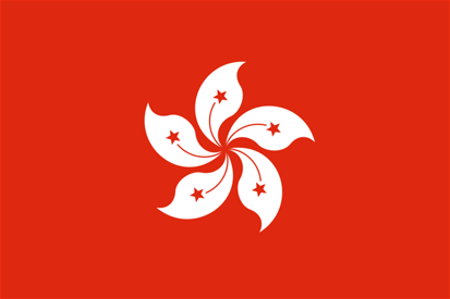 Flag: Hong Kong